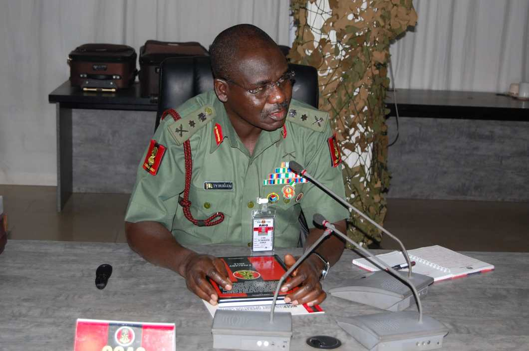 Chief of Army Staff,Lt-Gen. Tukur Buratai